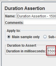 Duration Assertion
