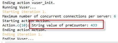 lr_save_int function in Loadrunner With Examples